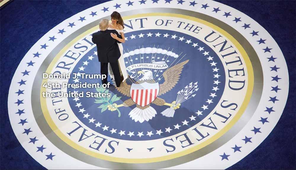 President Trump & Malania Dancing